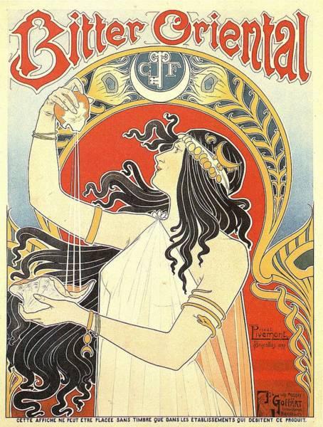 Screenprinting Painting - Vintage Poster - Bitter Oriental by Vintage Images