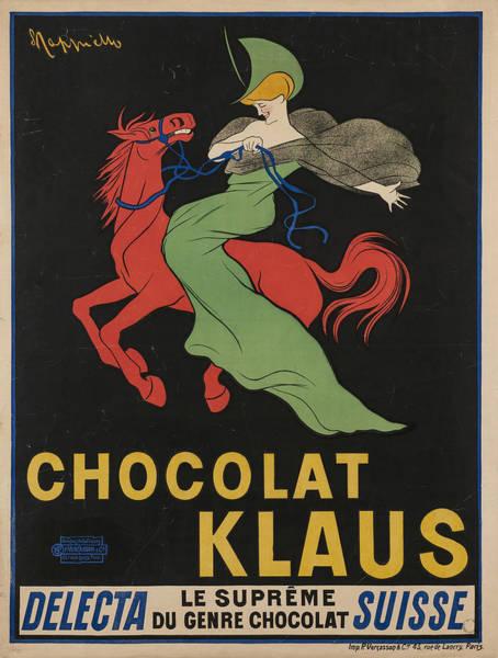 Screenprinting Painting - Vintage Poster - Chocolat Klaus by Vintage Images