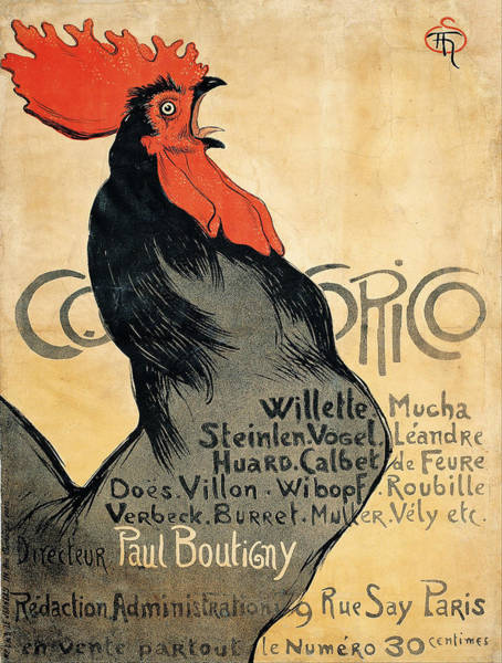 Francaise Painting - Vintage Poster - Cocorico by Vintage Images