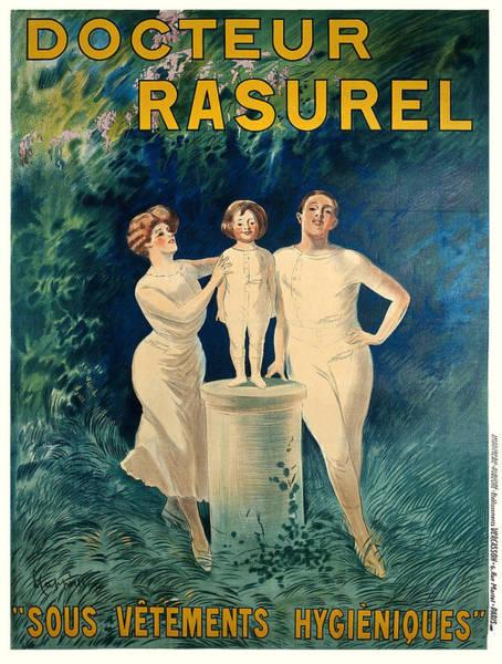 Francaise Painting - Vintage Poster - Docteur Rasurel by Vintage Images