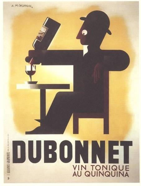 Francaise Painting - Vintage Poster - Dubonnet by Vintage Images