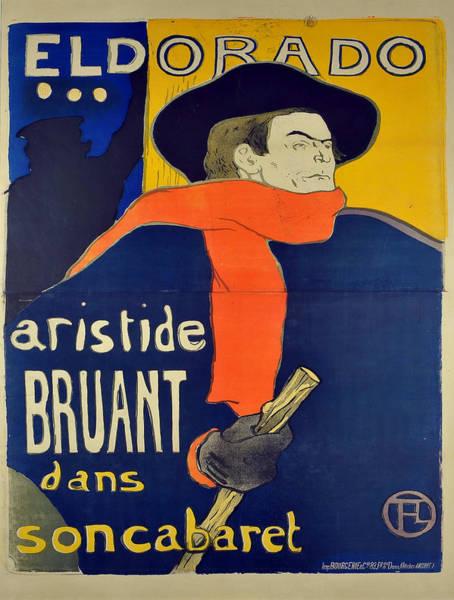 Screenprinting Painting - Vintage Poster - El Dorado by Vintage Images