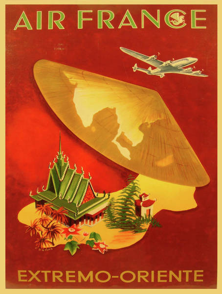 Francaise Painting - Vintage Poster - Extremo-oriente by Vintage Images