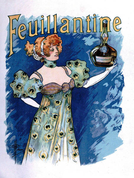 Francaise Painting - Vintage Poster - Feuillantine by Vintage Images