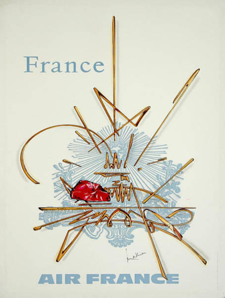 Francaise Painting - Vintage Poster - France by Vintage Images