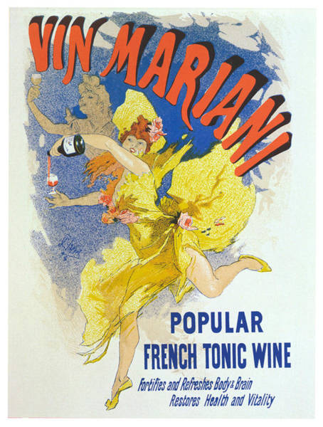 Francaise Painting - Vintage Poster - French Wine by Vintage Images