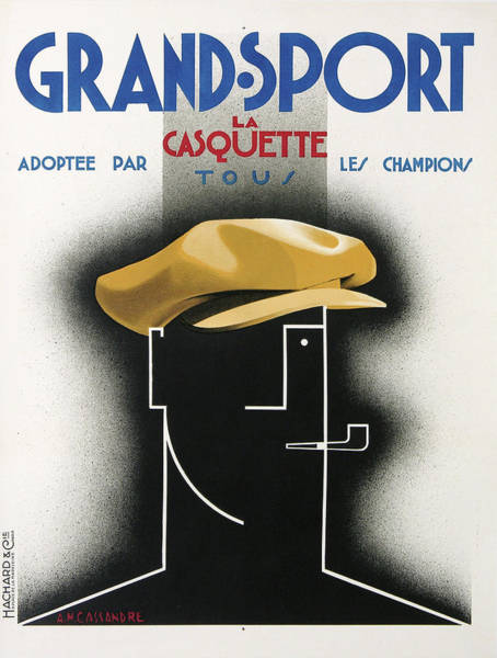 Francaise Painting - Vintage Poster - Grand Sport by Vintage Images