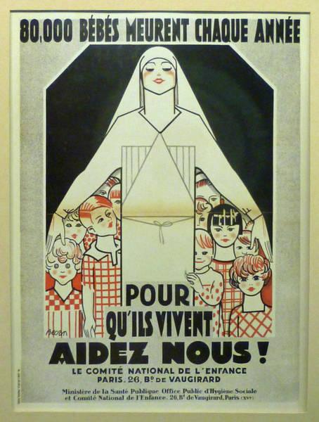 Francaise Painting - Vintage Poster - Musee Des Instruments De Medecine by Vintage Images