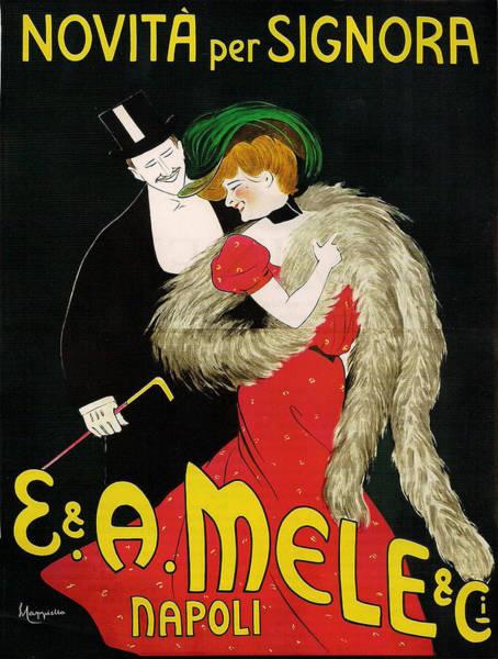 Screenprinting Painting - Vintage Poster - Novita Per Signora by Vintage Images