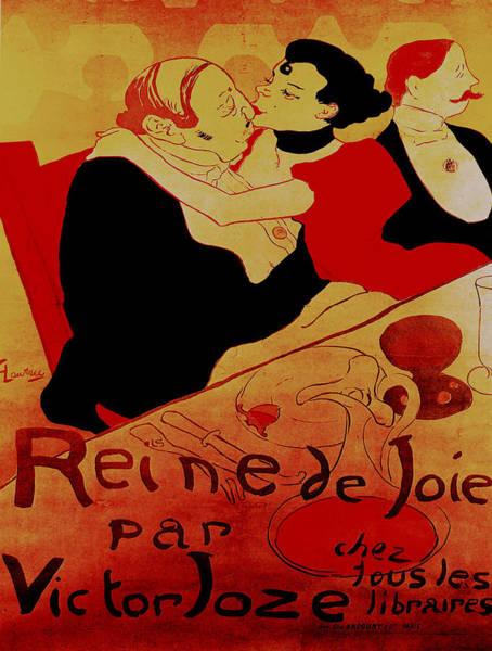 Francaise Painting - Vintage Poster - Reine De Joie Par Victor Joze by Vintage Images