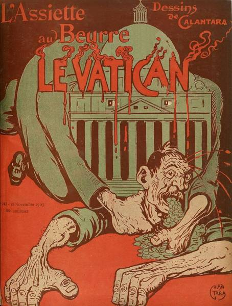 Strangling Painting - Vintage Poster - Vatican Galantara by Vintage Images