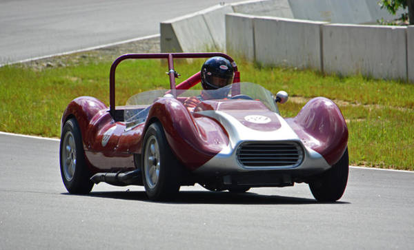 Whiskey Hill Wall Art - Photograph - Vintage Racer Group Special 240 by Mike Martin