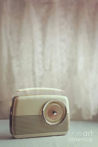 Wall Art - Photograph - Vintage Radio by Amanda Elwell