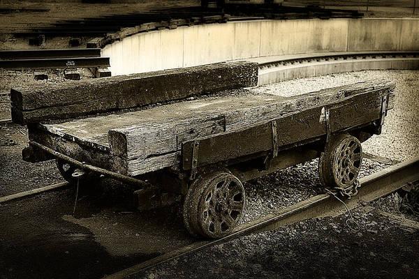 Photograph - Vintage Rail Cart by Scott Hovind