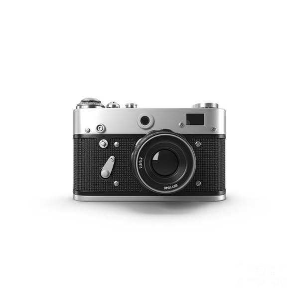 Photograph - Vintage Rangefinder Camera Tee by Edward Fielding