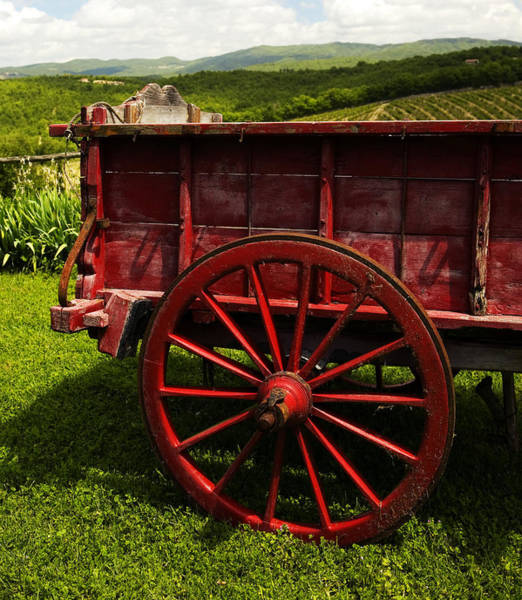 Photograph - Vintage Red Wagon 2 by Marilyn Hunt