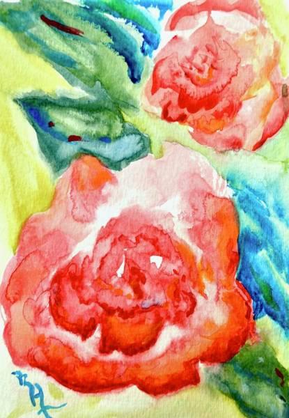 Painting - Vintage Roses by Beverley Harper Tinsley
