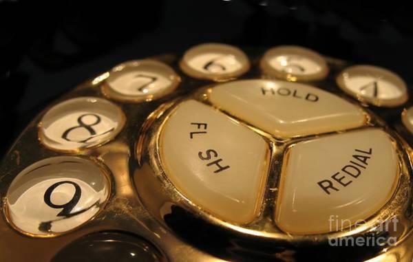 Vintage Rotary Dial Phone Art Print