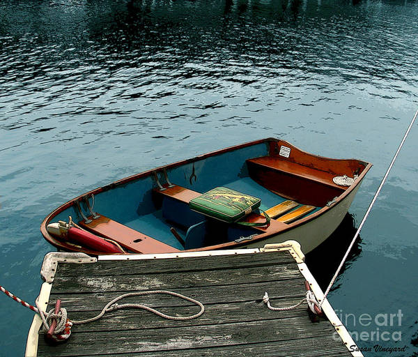 Photograph - Vintage Rowboat by Susan Vineyard
