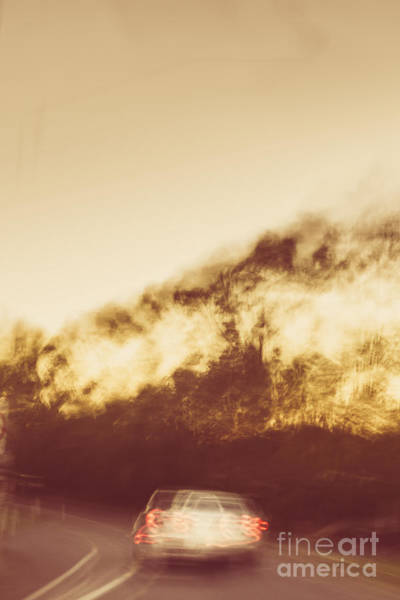 Chase Photograph - Vintage Rural Car Chase by Jorgo Photography - Wall Art Gallery