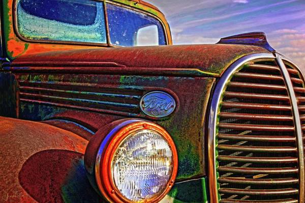 Vintage Rust N Colors Art Print