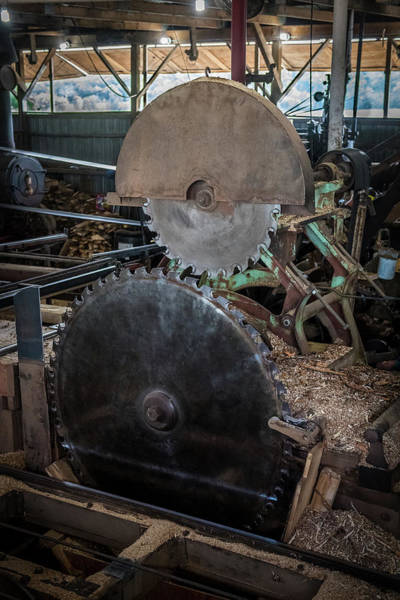 Wall Art - Photograph - Vintage Saw Mill by Paul Freidlund