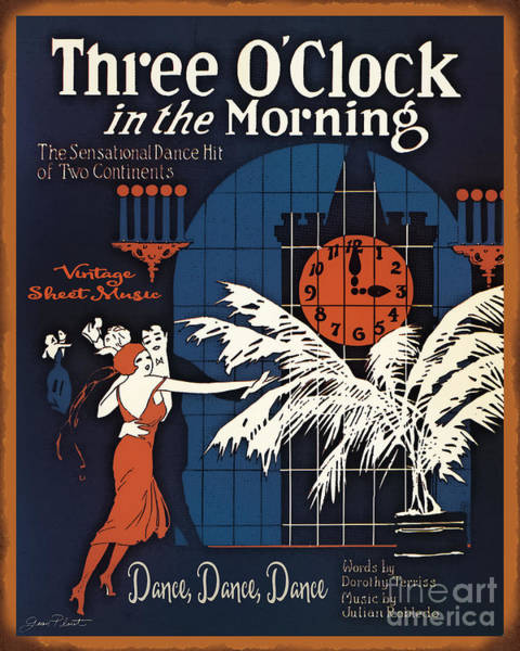 Morning Song Wall Art - Painting - Vintage Sheet Music Covers-jp3504 by Jean Plout