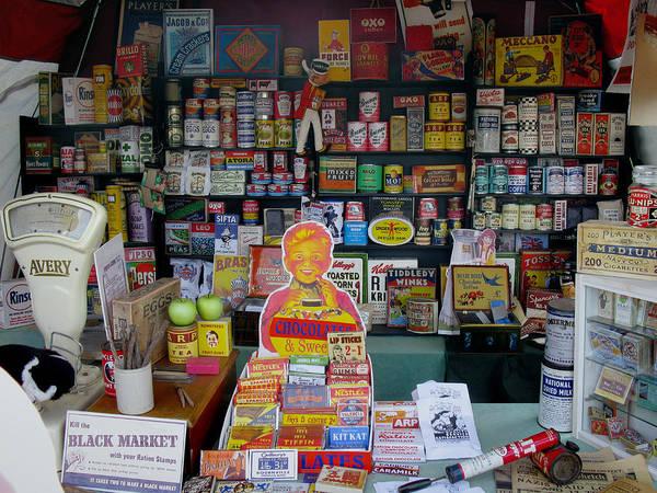 Vintage Conway Photograph - Vintage Shop Display by Tom Conway