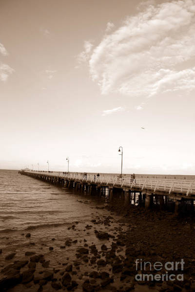 Photograph - Vintage Shorncliffe Pier by Jorgo Photography - Wall Art Gallery