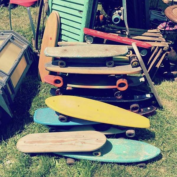 Photograph - #vintage #skateboard #skateboarding by Patricia And Craig