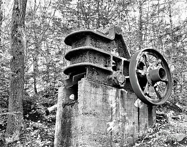 Photograph - Vintage Stone Crusher Circa 1928  by Smilin Eyes  Treasures