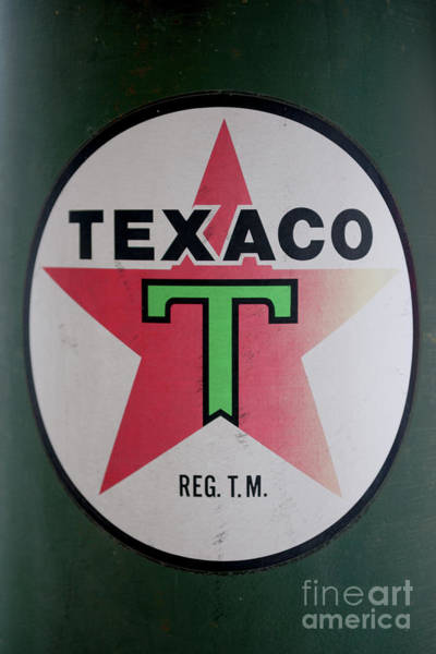 Photograph - Vintage Texaco Gas Pump by Dale Powell
