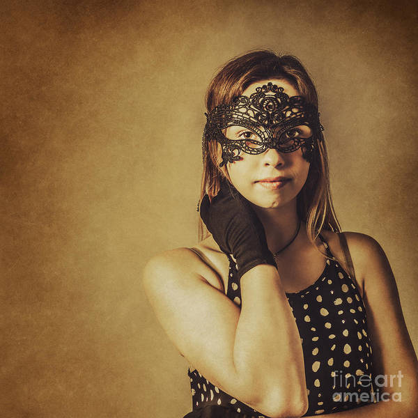 Showgirl Photograph - Vintage Theatre Show Girl  by Jorgo Photography - Wall Art Gallery