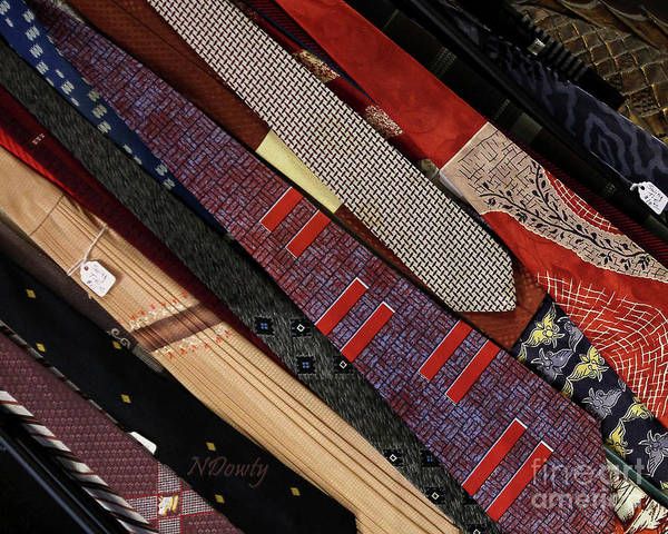 Photograph - Vintage Ties by Natalie Dowty