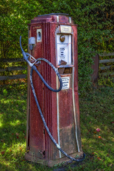 Wall Art - Photograph - Vintage Tokheim Gas Pump by Susan Candelario