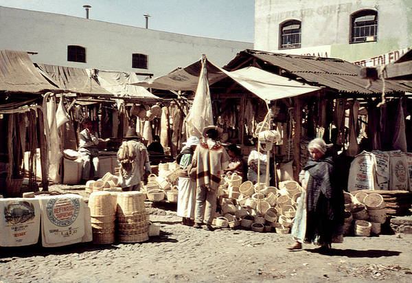 Photograph - Vintage Toluca Mexico Market by Marilyn Hunt