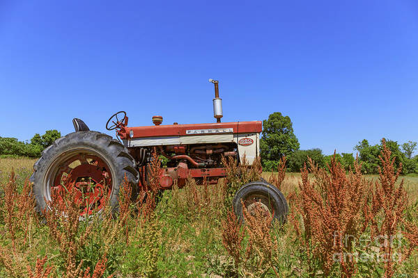 Photograph - Vintage Tractor Finger Lakes by Edward Fielding