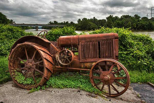 Photograph - Vintage Tractor by Robert FERD Frank