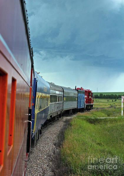 Photograph - Vintage Train by Ann E Robson