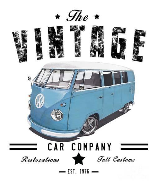Wagon Digital Art - Vintage Transportation by Paul Kuras