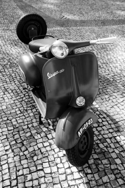Photograph - Vintage Vespa Scooter by Andrew Fare