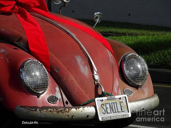 Oahu Digital Art - Vintage Volkswagen by Dorlea Ho