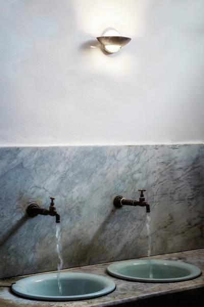Wall Art - Photograph - Vintage Washbasins by Joana Kruse