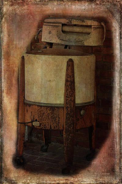 Photograph - Vintage Washing Machine  by Lesa Fine