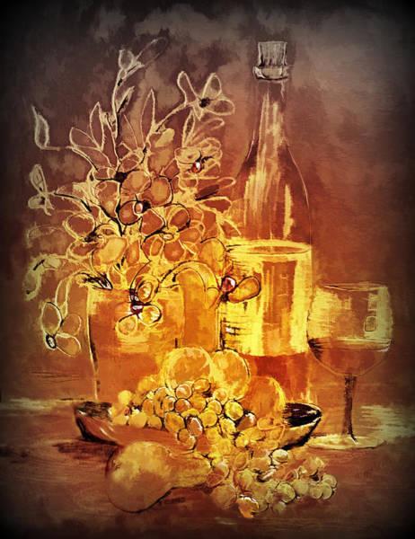 Painting - Vintage Wine by Valerie Anne Kelly