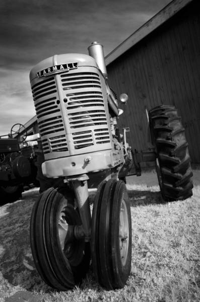Wall Art - Photograph - Vintage Workhorse - Farmall by Luke Moore