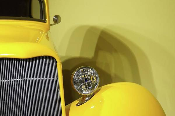 Photograph - Vintage Yellow Jalopy by Patricia Strand