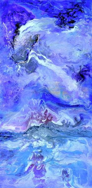 Wall Art - Painting - Violet Storm by Debi Starr