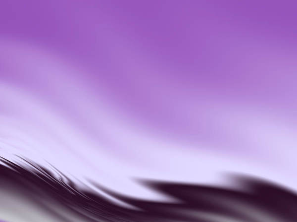 Wall Art - Digital Art - Violet Waves by Rich Leighton