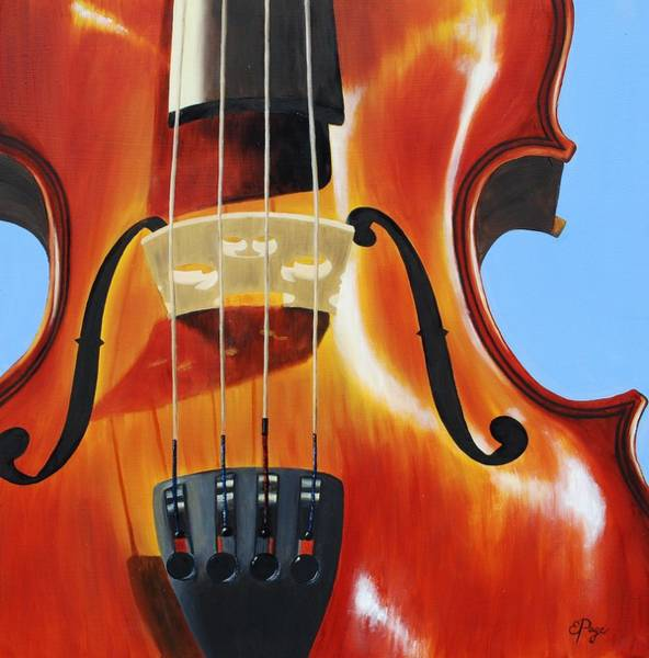 Painting - Violin by Emily Page